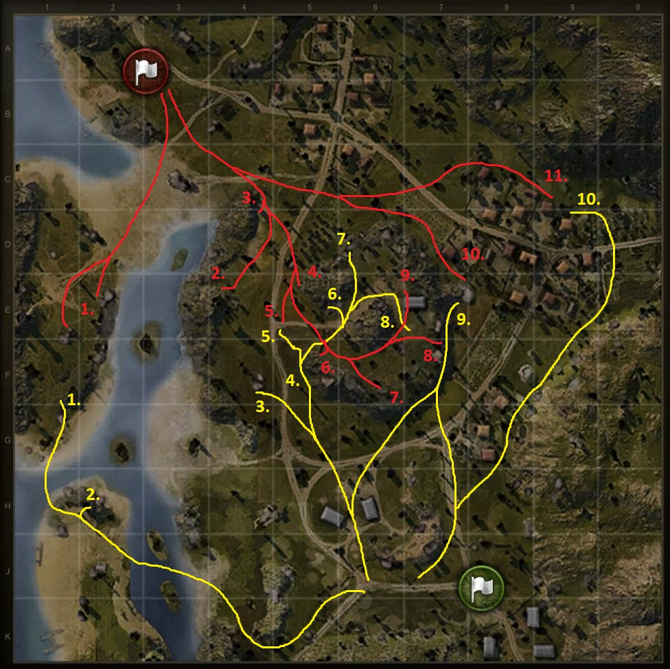 map-mines